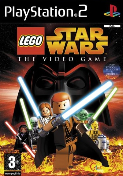 PS2 Lego Star Wars