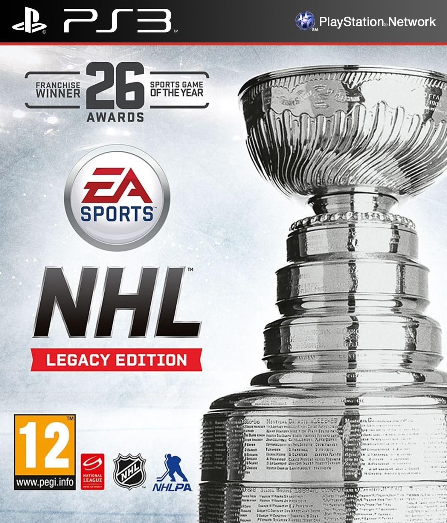 PS3 NHL 16 Legacy Edition CZ Nové