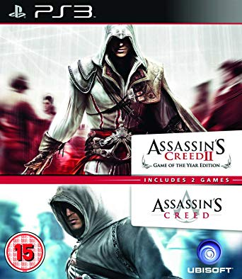 PS3 Assassins Creed 1 + Assassins Creed 2