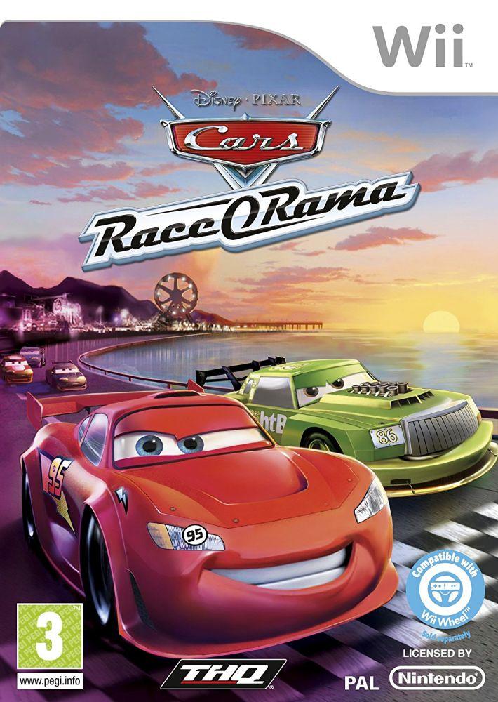 Wii Disney Cars Race-O-Rama