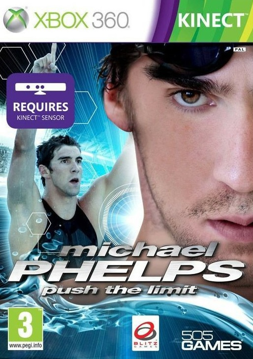 X360 Michael Phelps Push the Limit Nové