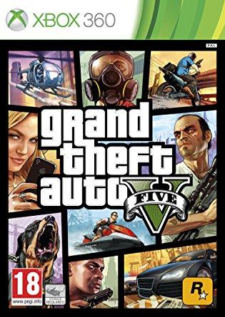 X360 Grand theft Auto V (GTA 5) Nové