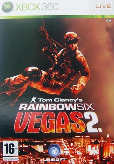 X360 Tom Clancys Rainbow Six Vegas 2 Steelbook