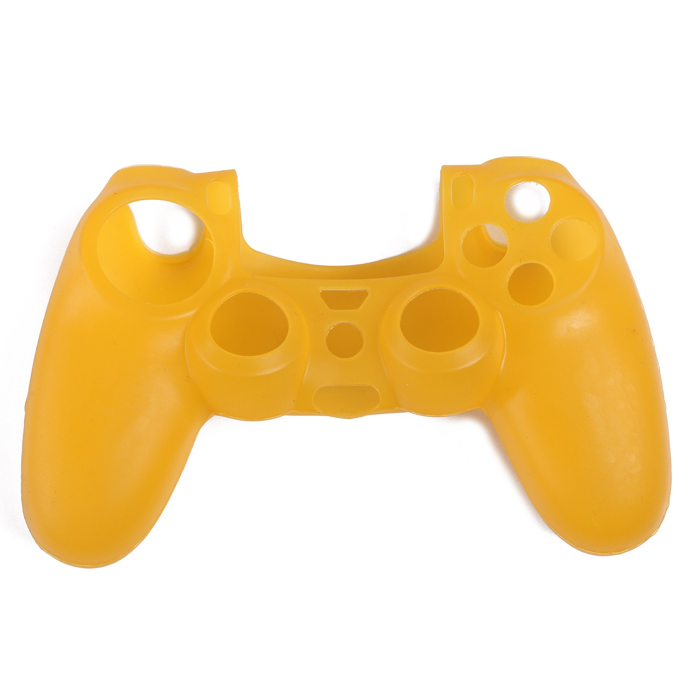 PS4 silikonový obal na ovladač žlutý Nové