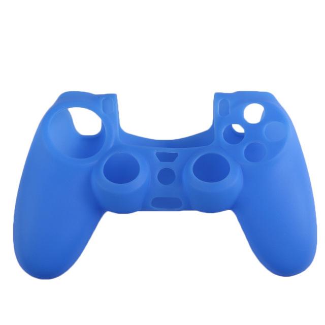 PS4 silikonový obal na ovladač modrý Nové