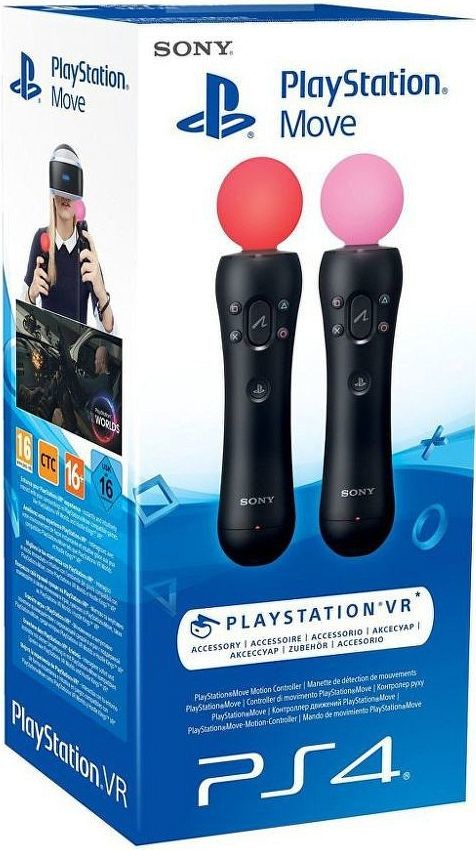 PS4 Playstation Move Twin Pack Nové