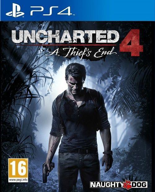 PS4 Uncharted 4 A Thiefs End CZ Nové