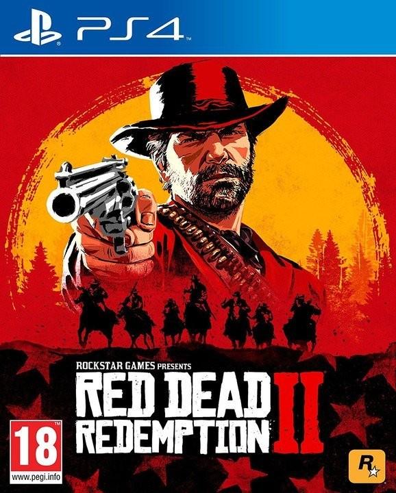 PS4 Red Dead Redemption 2 Nové