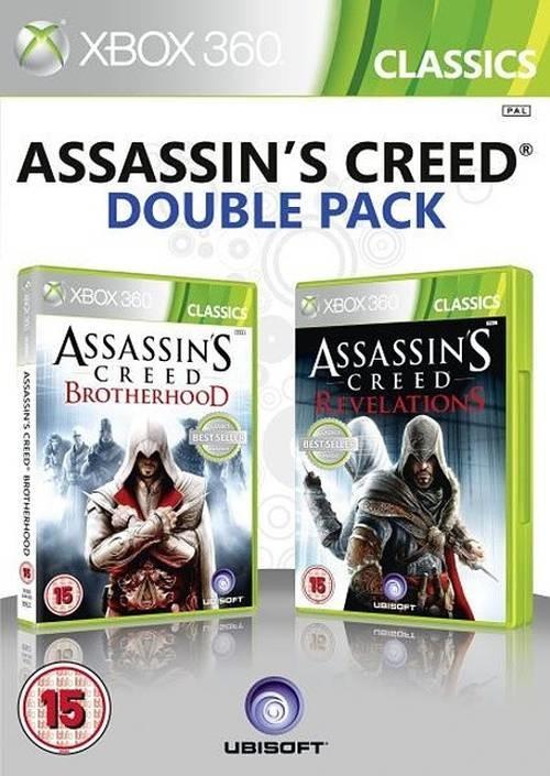 X360 Assassins Creed Brotherhood + Assassins Creed Revelations
