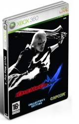 X360 Devil May Cry 4 Collectors Edition Steelbook