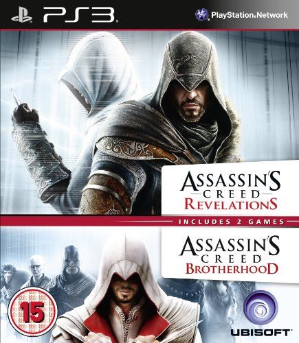 PS3 Assassins Creed Brotherhood + Assassins Creed Revelations