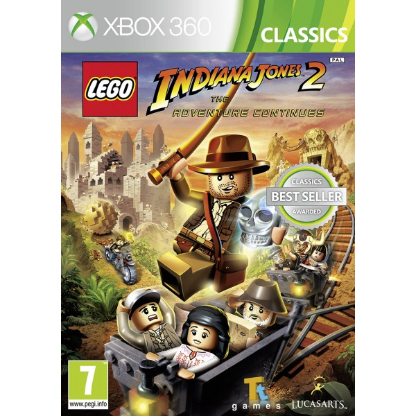 X360 LEGO Indiana Jones 2 The Adventure Continues