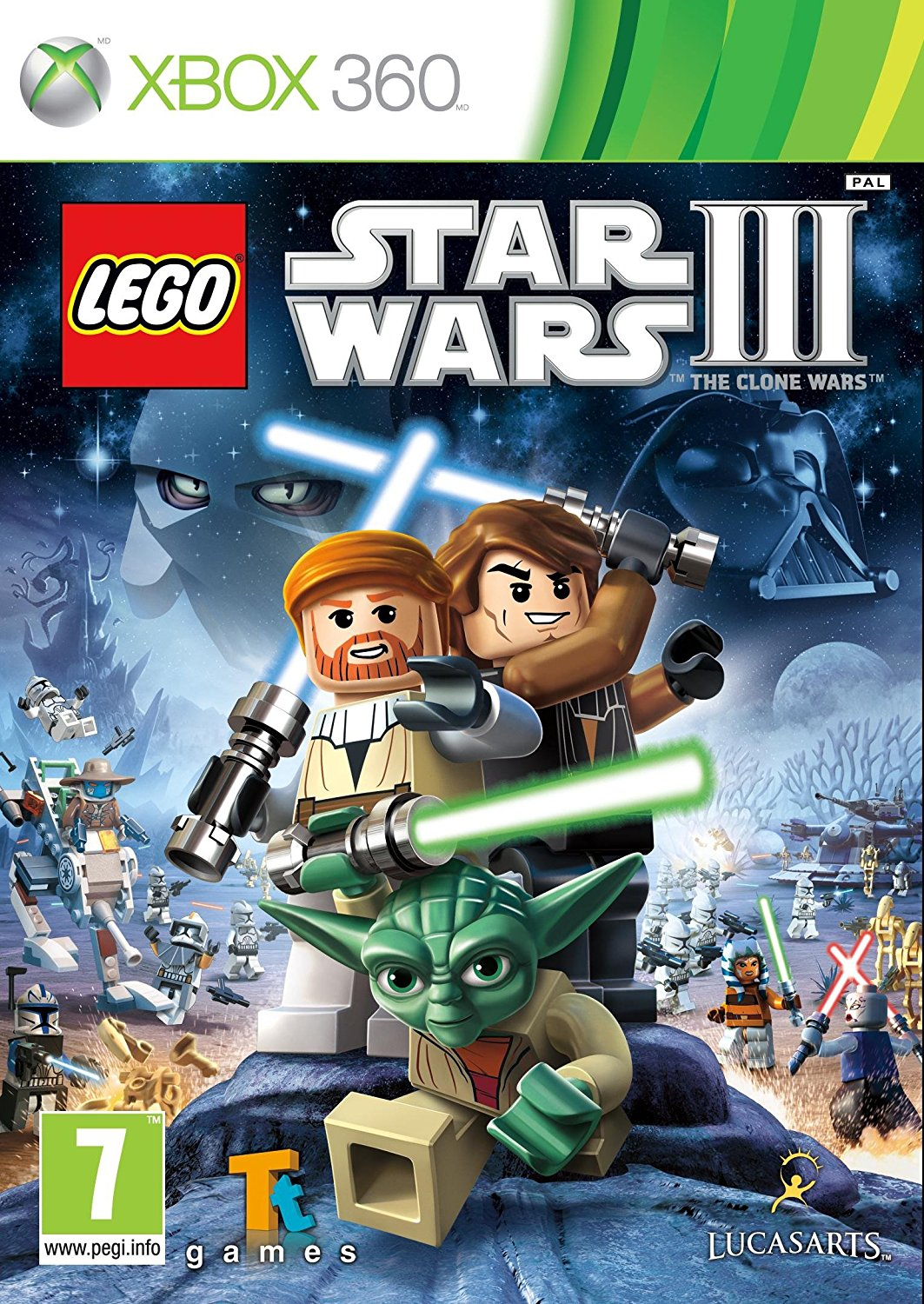 X360 LEGO Star Wars 3 The Clone Wars