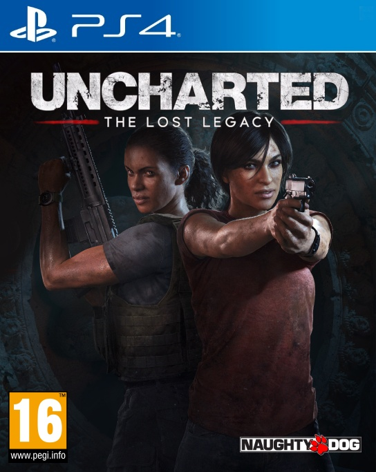 PS4 Uncharted The Lost Legacy CZ - jen hra