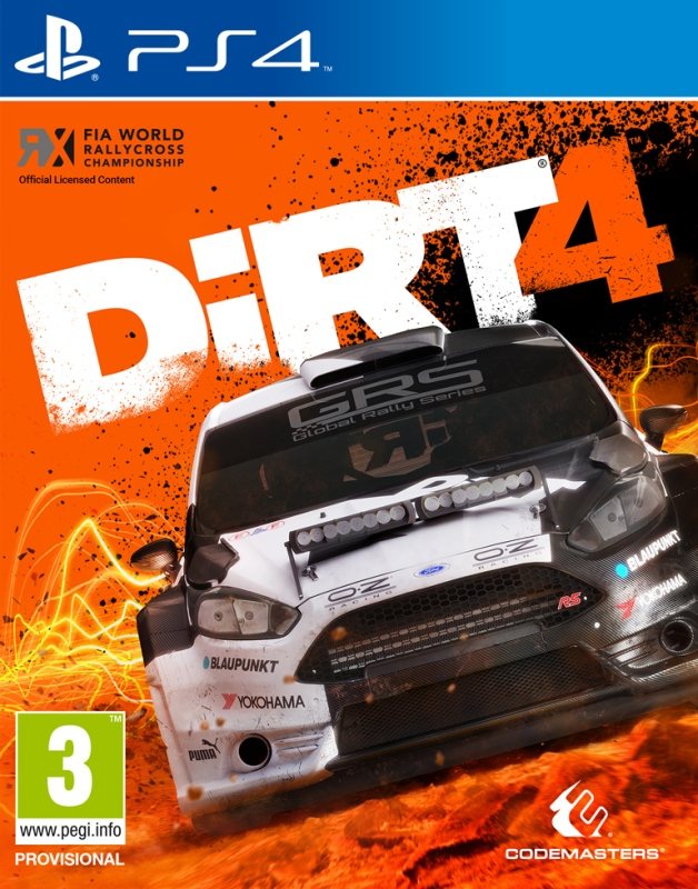 PS4 Dirt 4 Nové