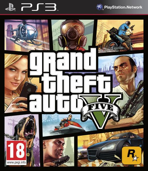 PS3 Grand Theft Auto V (GTA 5) N