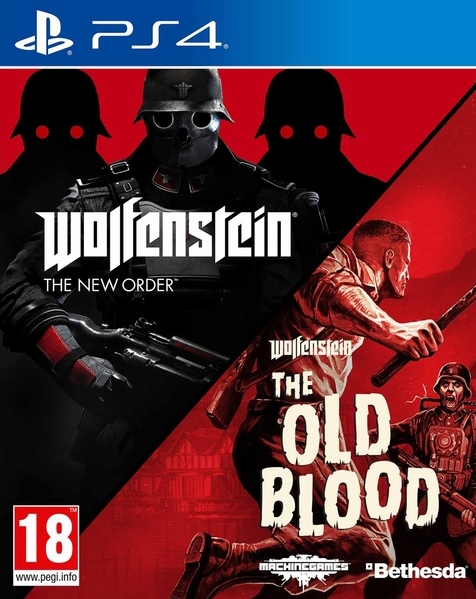 PS4 Wolfenstein The New Order - Wolfenstein The Old Blood Nové