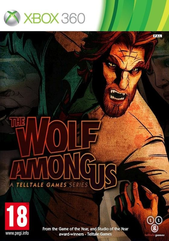 X360 The Wolf Among Us A Telltale Games Series Nové