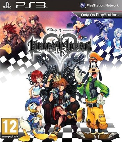 PS3 Kingdom Hearts HD 1.5 Remix