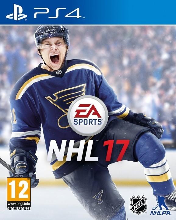 PS4 NHL 17 CZ Nové