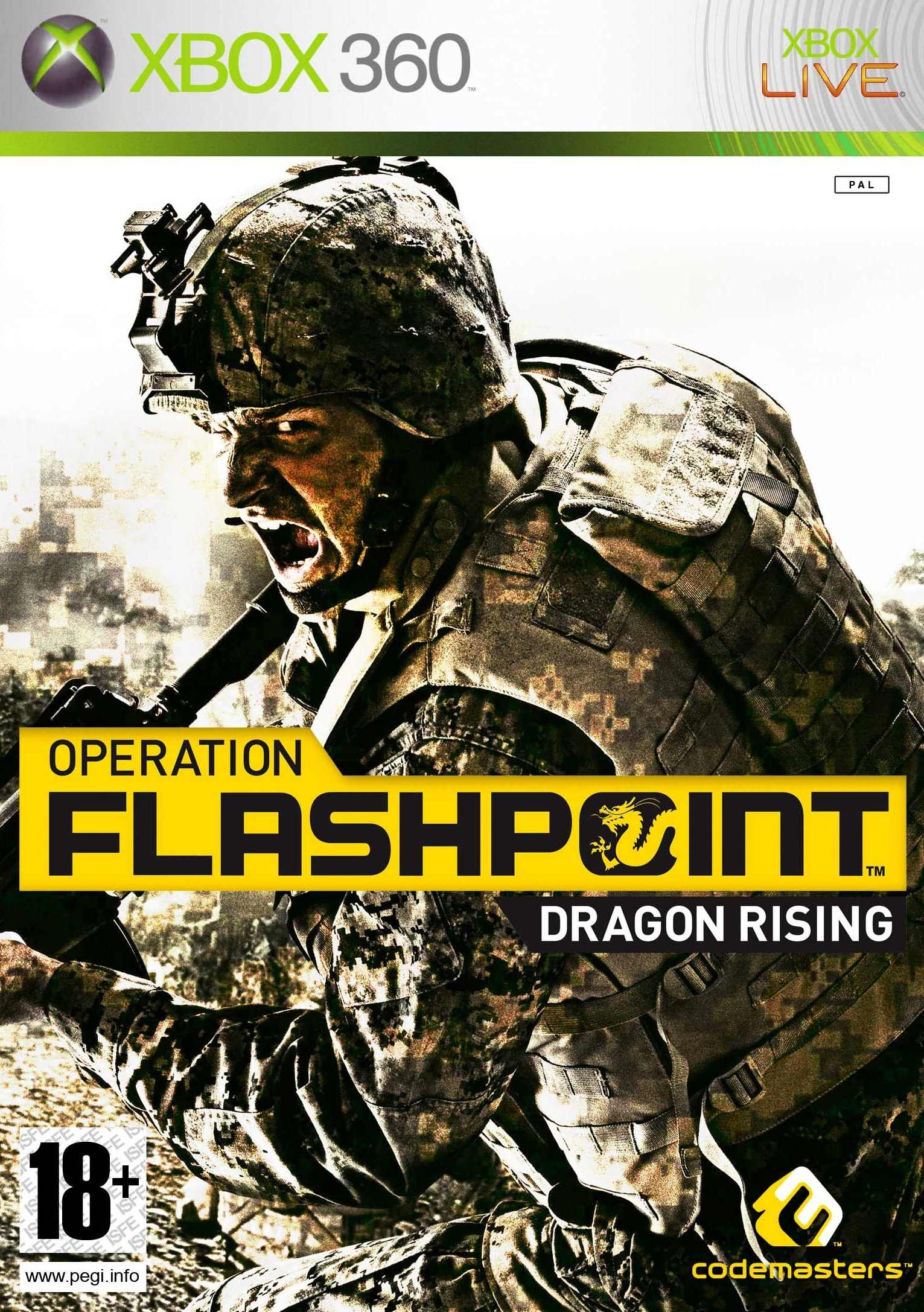 X360 Operation Flashpoint Dragon Rising