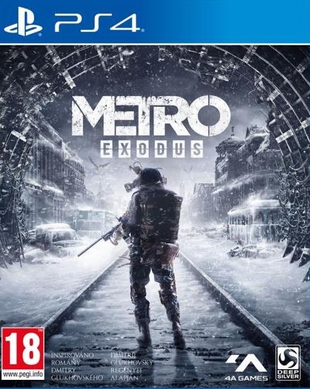 PS4 Metro Exodus CZ Nové