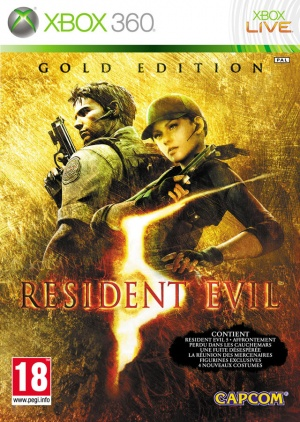 X360 Resident Evil 5 Gold Edition