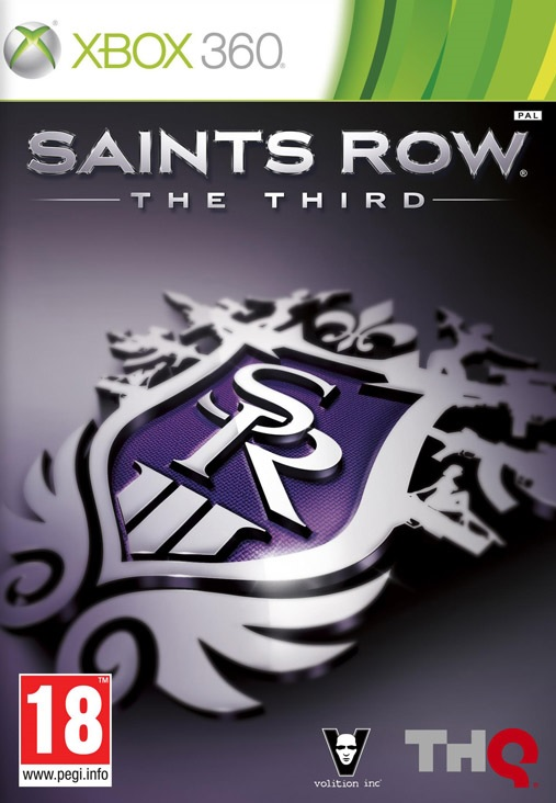 X360 Saints Row The Third