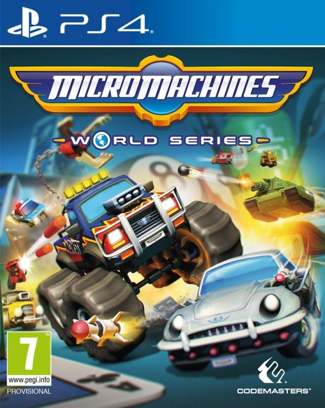 PS4 Micro Machines World Series Nové