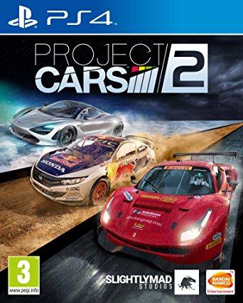 PS4 Project CARS 2 Nové