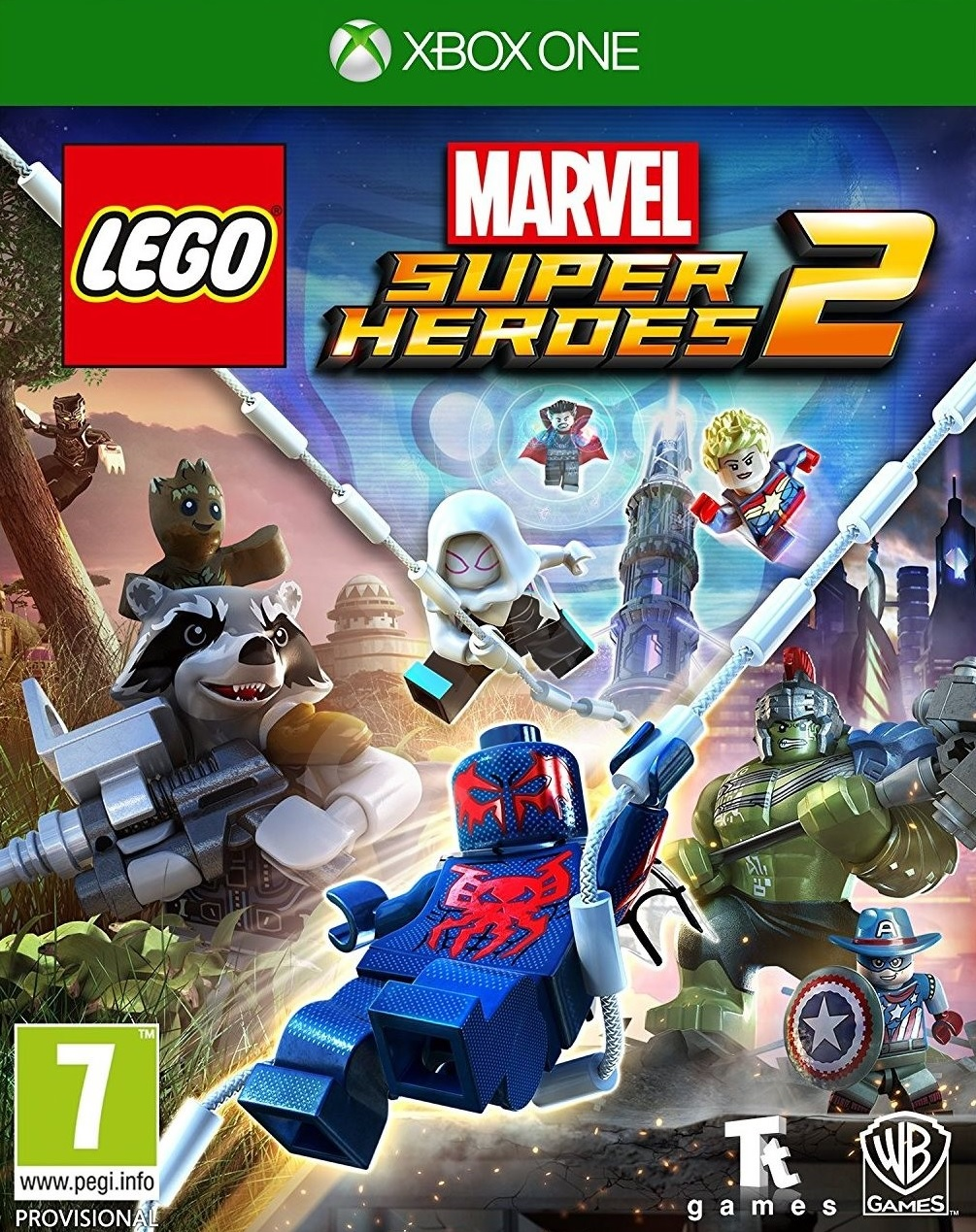 XONE Lego Marvel Super Heroes 2 Nové