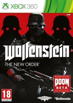 X360 Wolfenstein The New Order Nové