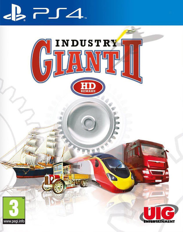 PS4 Industry Giant 2 HD Remake Nové