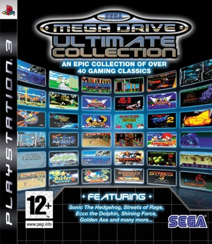 PS3 Sega Mega Drive Ultimate Collection Nové