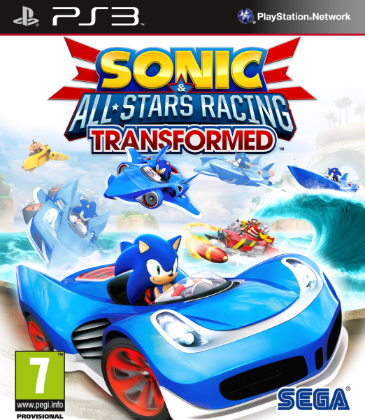 PS3 Sonic and All Stars Racing Transformed Nové