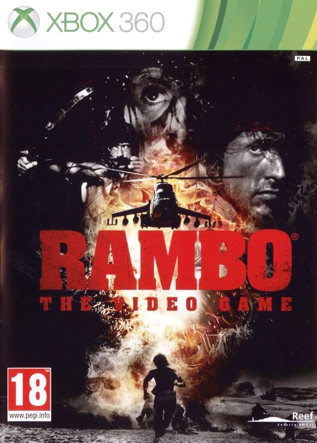 X360 Rambo The Video Game Nové
