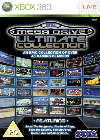 X360 Sega Mega Drive Ultimate Collection Nové