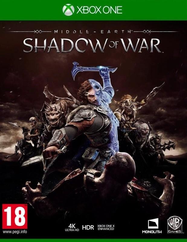 XONE Middle Earth Shadow of War Nové