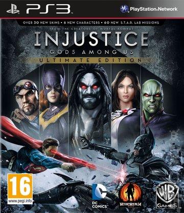 PS3 Injustice Gods Among Us Ultimate Edition Nové