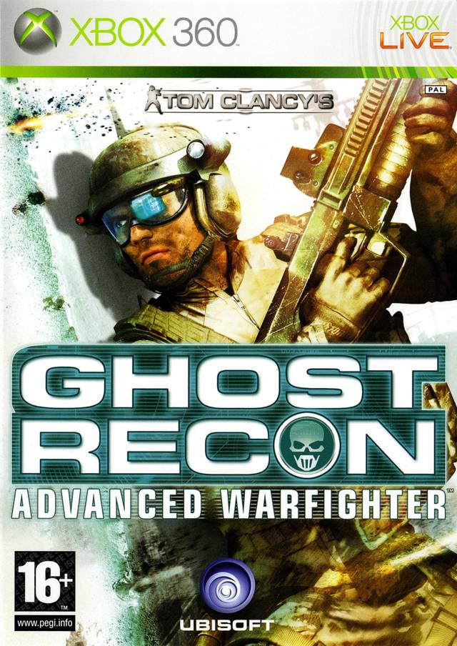 X360 Tom Clancys Ghost Recon Advanced Warfighter