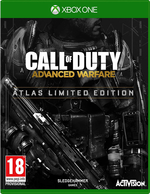 XONE Call of Duty Advanced Warfare Atlas Limited Edition Steelbook