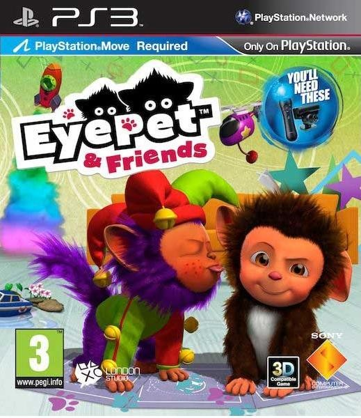 PS3 EyePet and Friends Nové