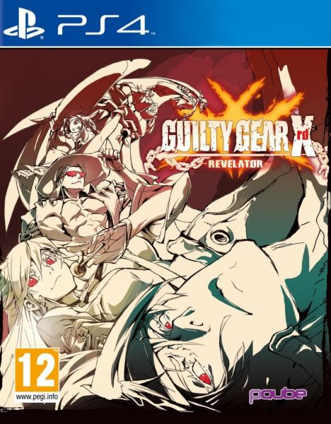 PS4 Guilty Gear XRD Revelator Nové