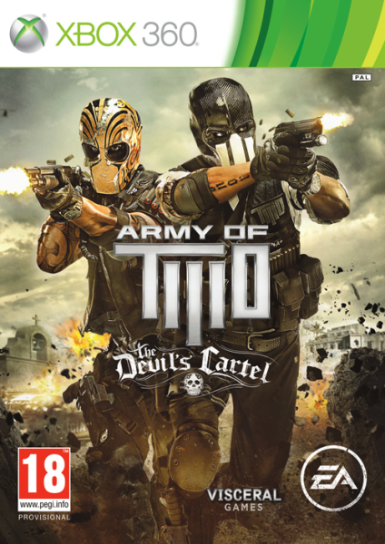 X360 Army of Two The Devils Cartel Nové