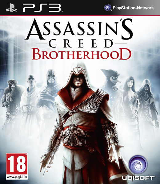 PS3 Assassins Creed Brotherhood Nové
