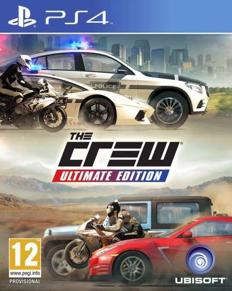 PS4 The Crew Ultimate Edition Nové