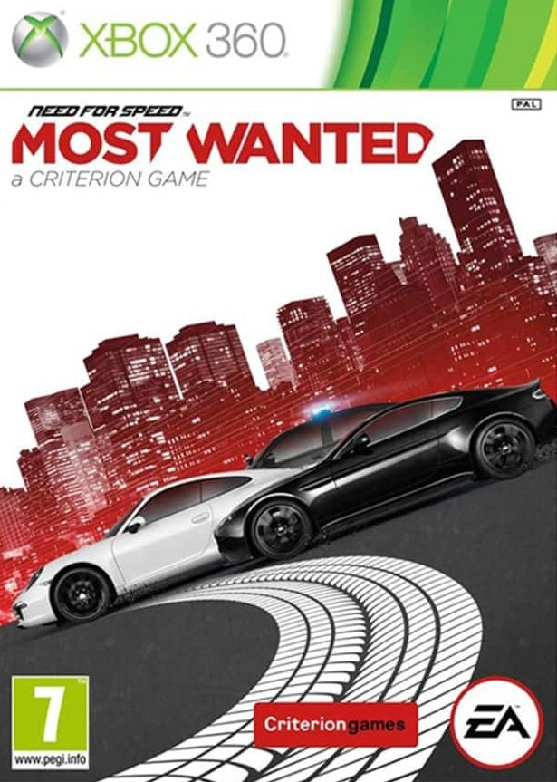 X360 Need for Speed Most Wanted 2 Nové