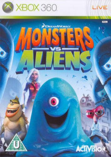 X360 Monsters vs Aliens