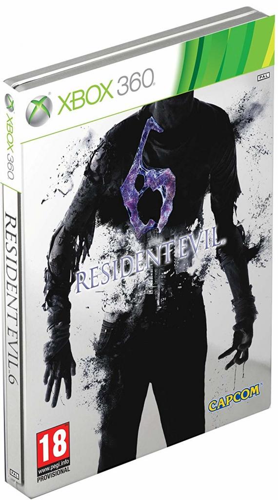 X360 Resident Evil 6 Steelbook