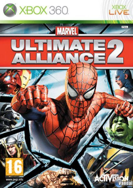 X360 Marvel Ultimate Alliance 2